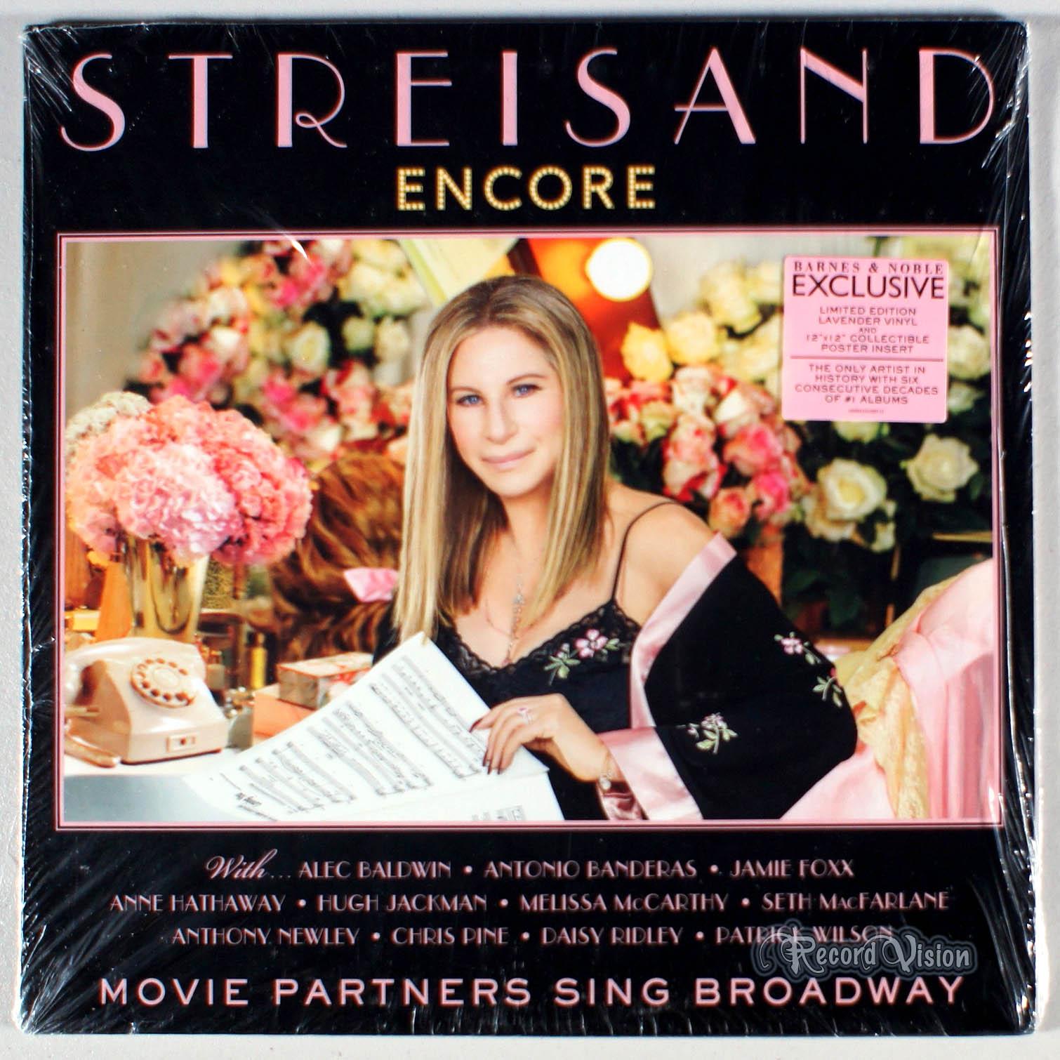 BARBRA STREISAND - Encore Movie Partners Sing Broadway - LP