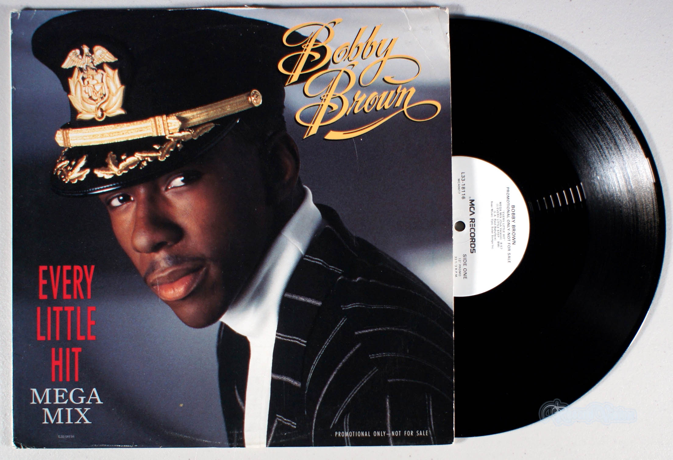 BOBBY BROWN - Every Little Hit - 12 inch x 1