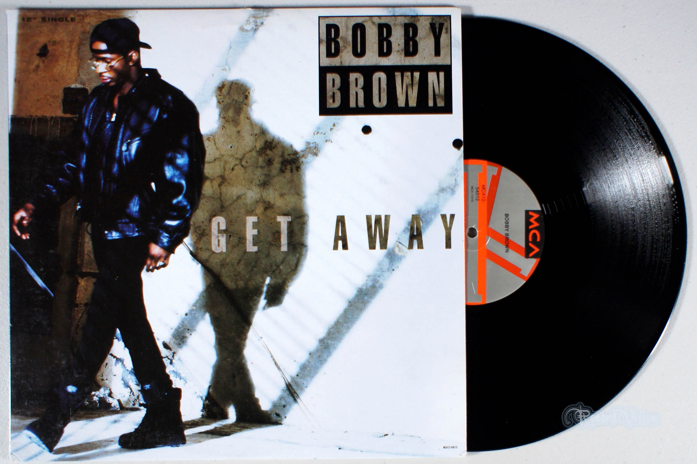 BOBBY BROWN - Get Away - 12 inch x 1