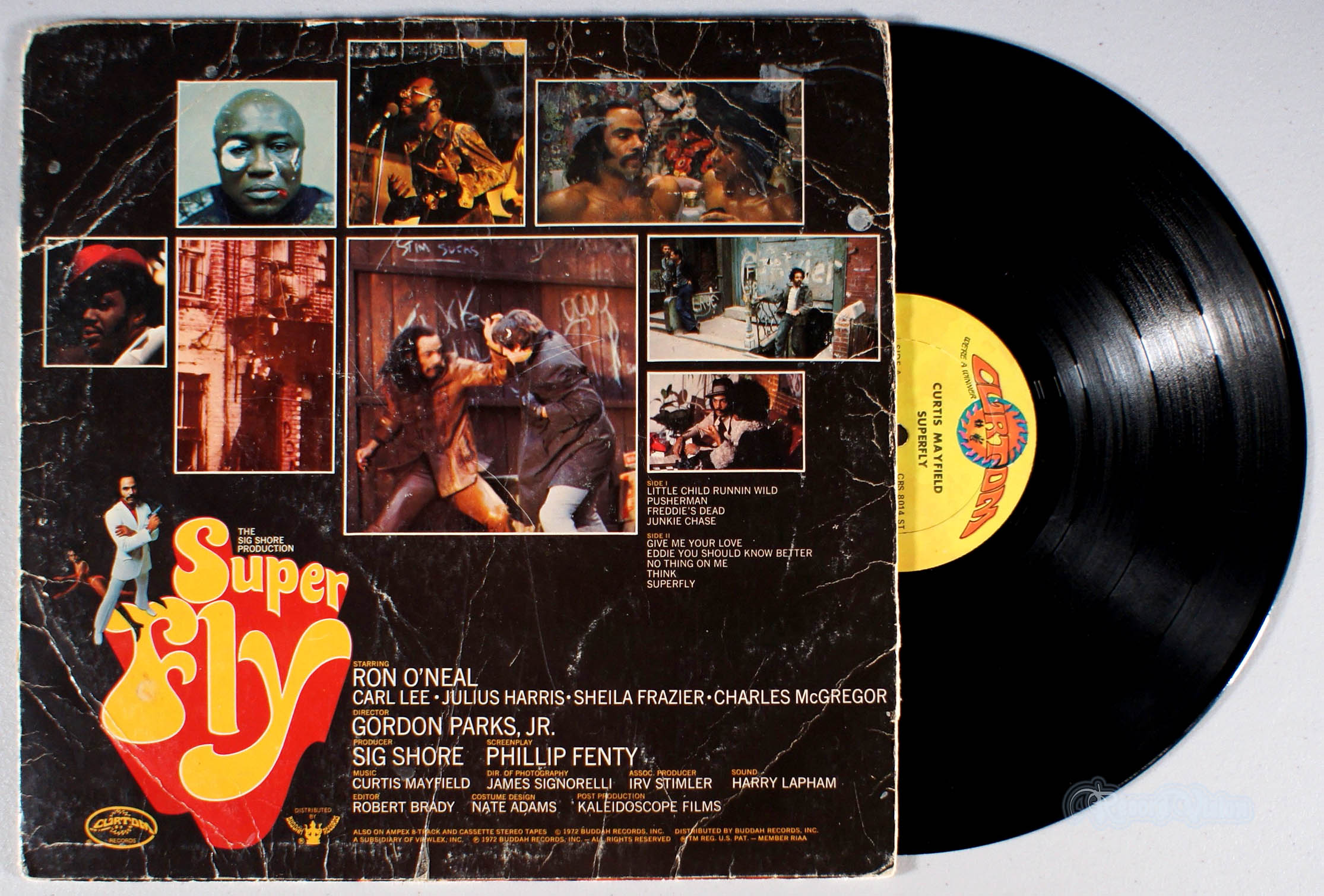CURTIS MAYFIELD - Super Fly - 33T