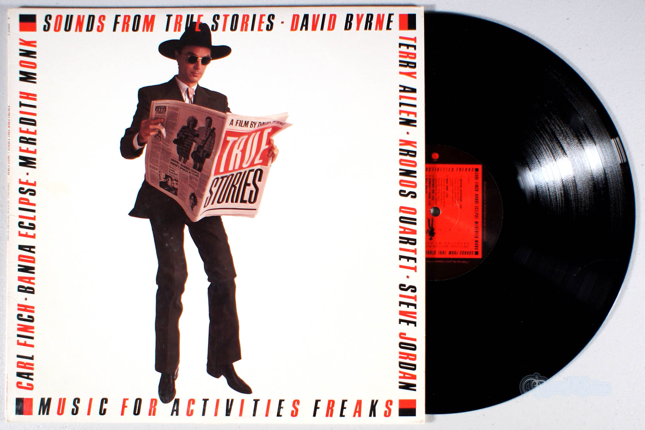 DAVID BYRNE - Sounds From True Stories - 33T