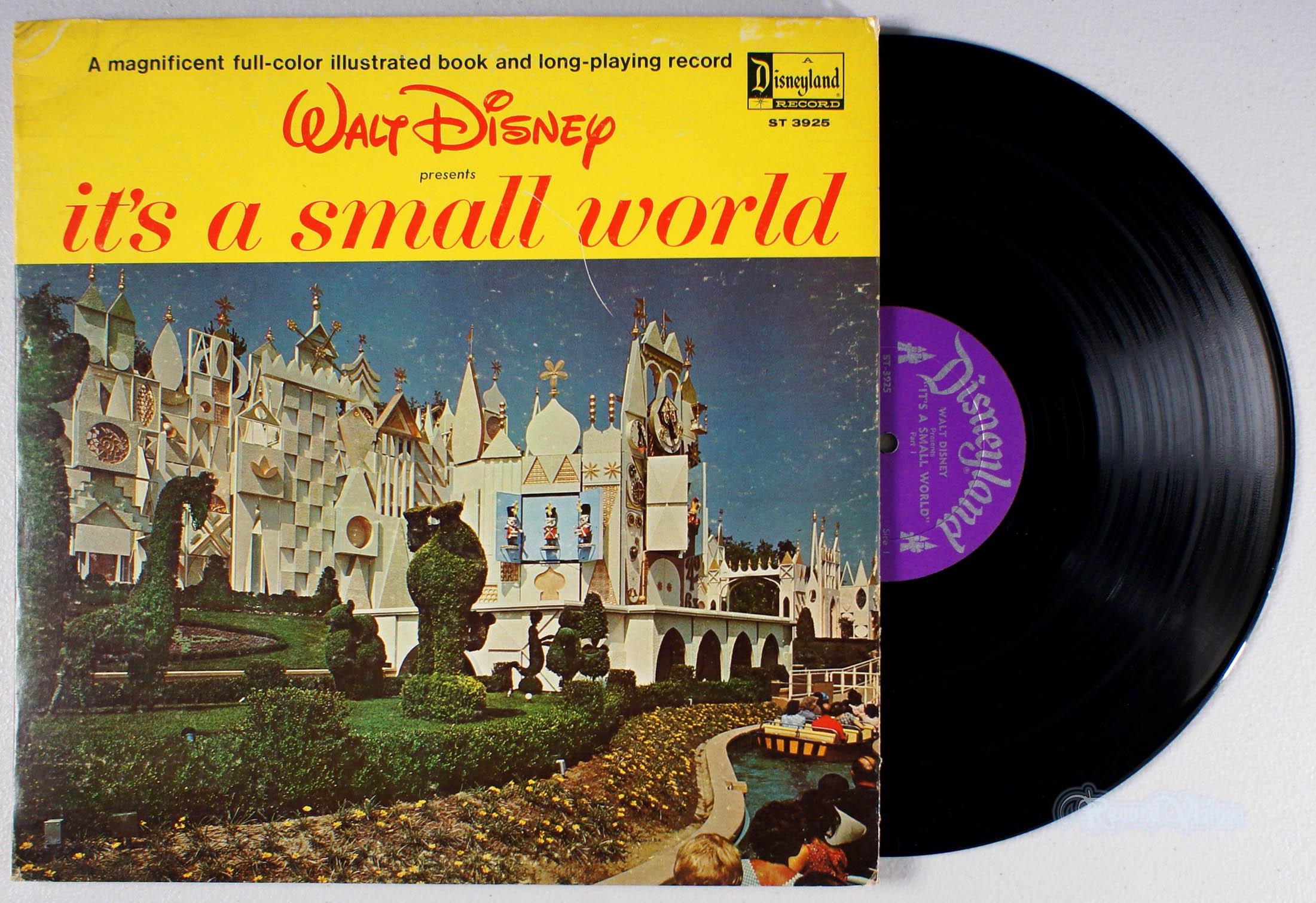 DISNEY - It's a Small World - 33T