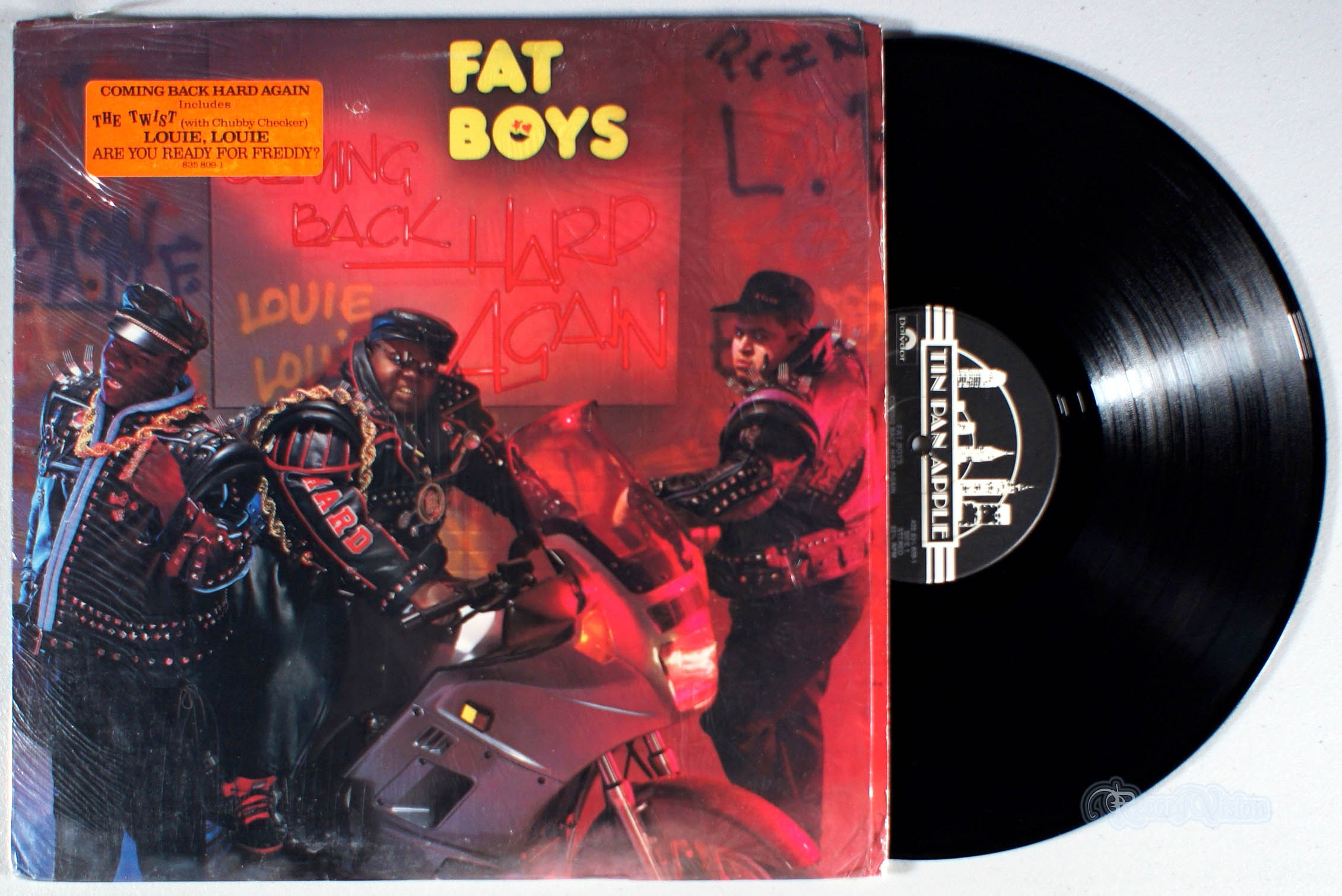 FAT BOYS - Coming Back Hard Again - LP