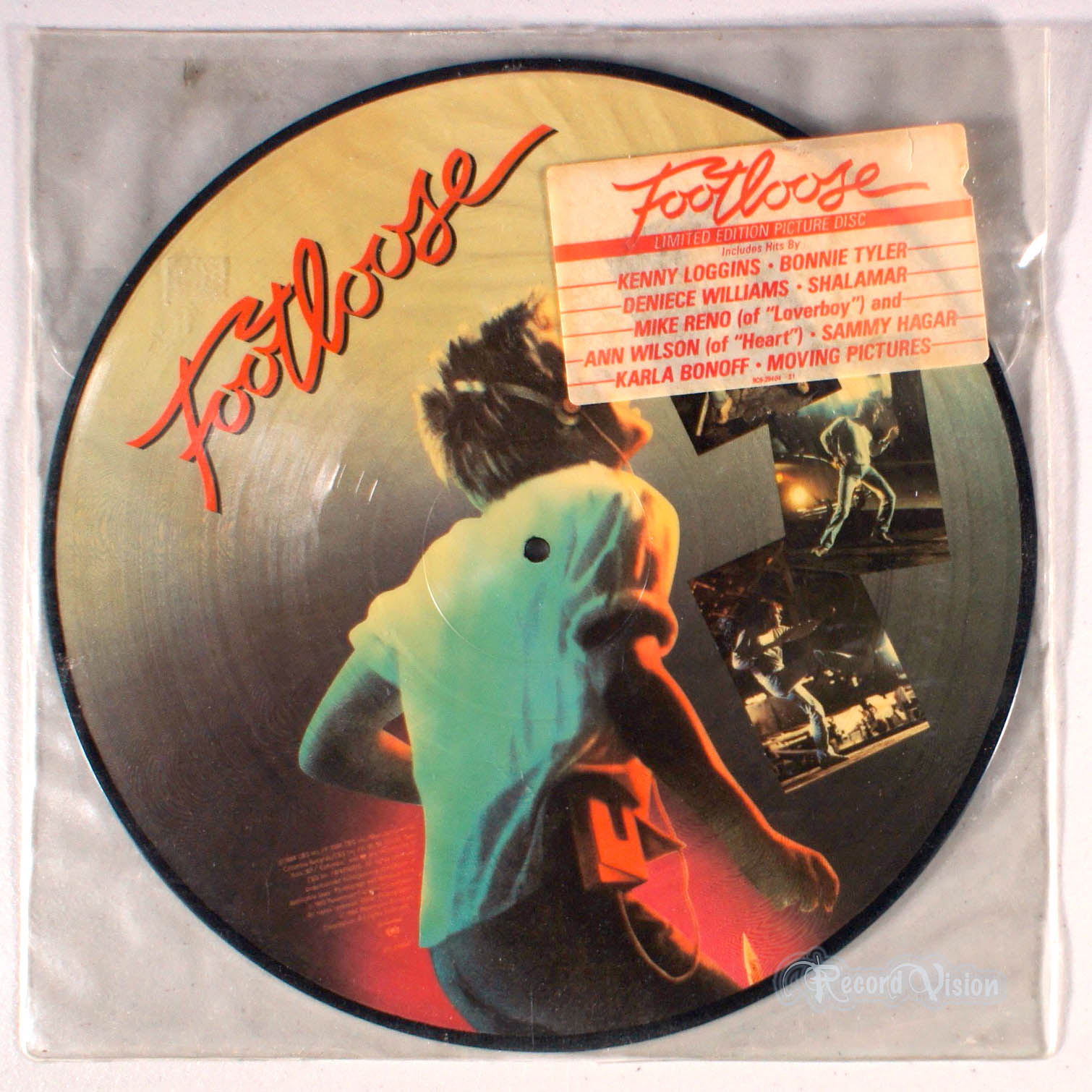 ASSORTED (BONNIE TYLER) - Footloose (Picture Disc) - 33T