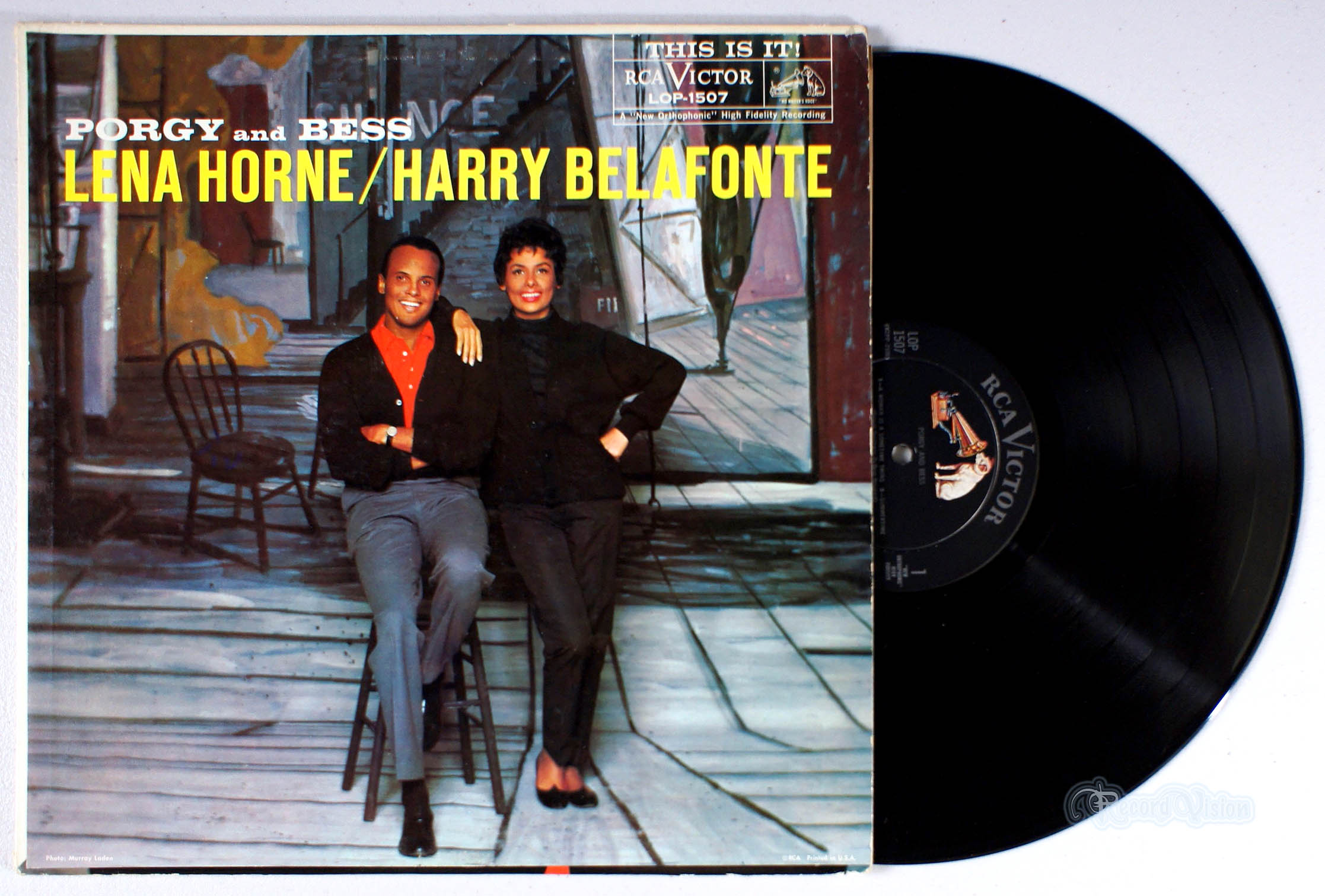 HARRY BELAFONTE - Porgy and Bess - 33T