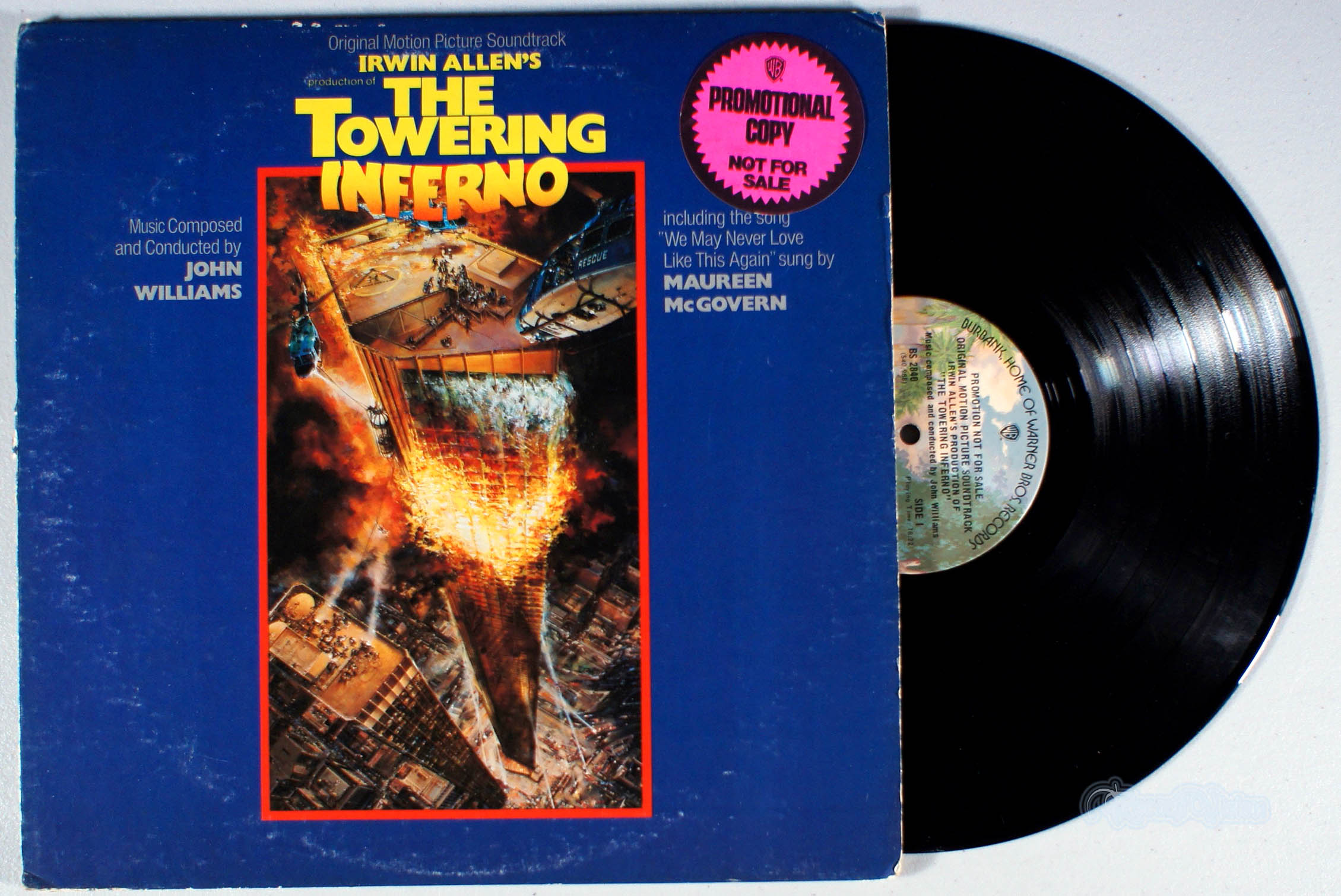 JOHN WILLIAMS - The Towering Inferno - 33T