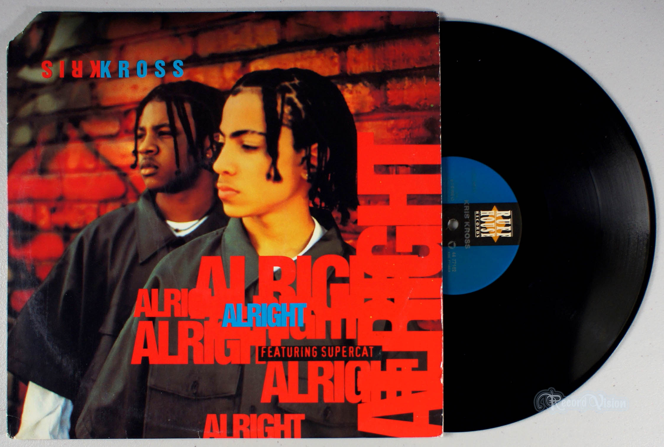 KRIS KROSS - Alright - 12 inch x 1