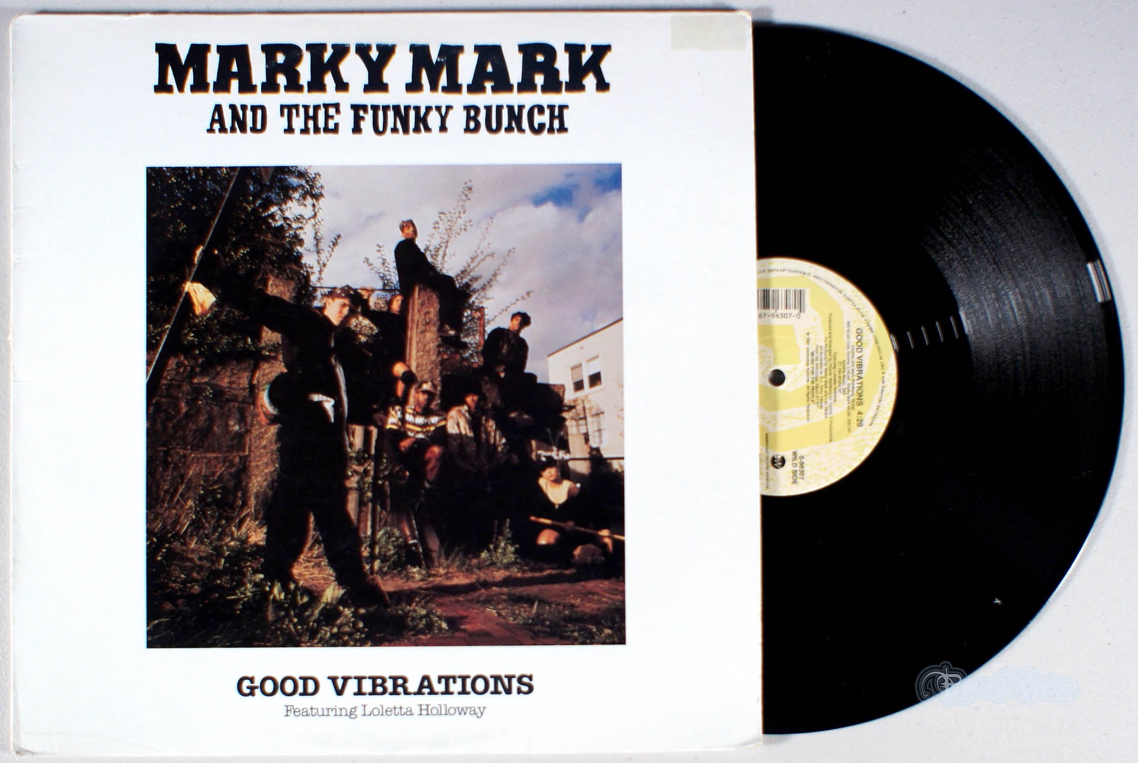 MARKY MARK - Good Vibrations - 12 inch x 1