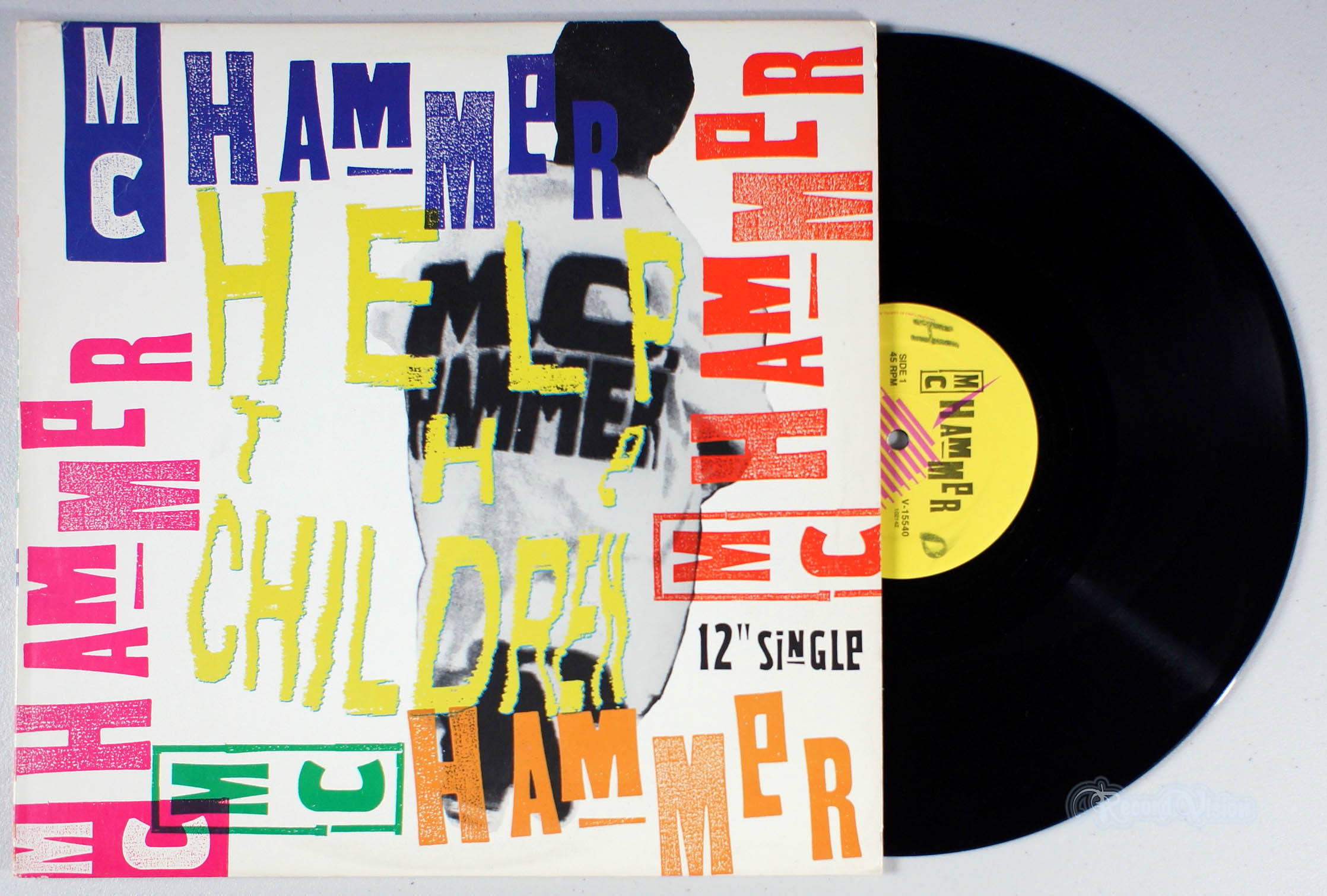 MC HAMMER - Help the Children - 12 inch x 1