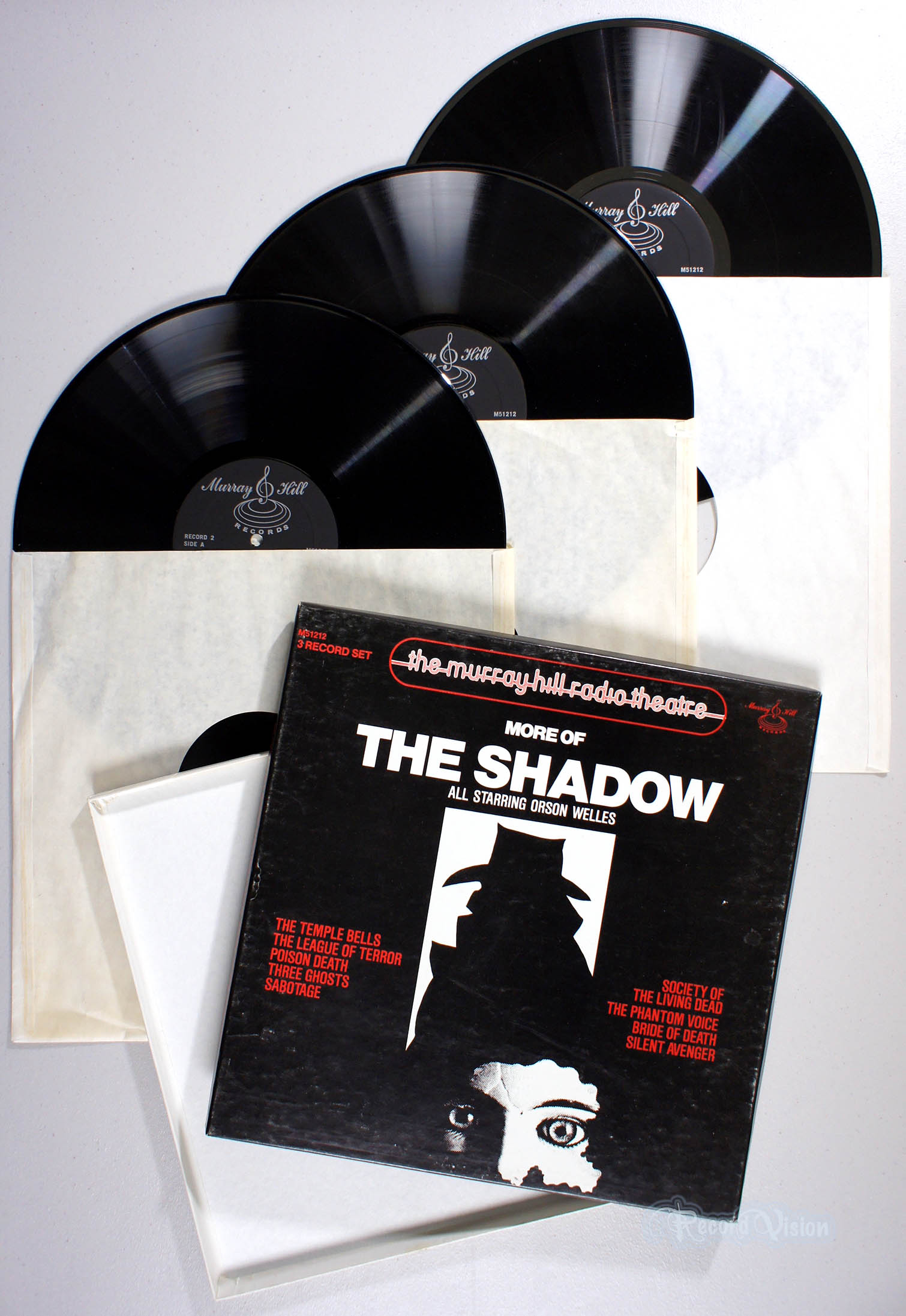 ASSORTED (SOUNDTRACK) - More of The Shadow - Coffret 33T
