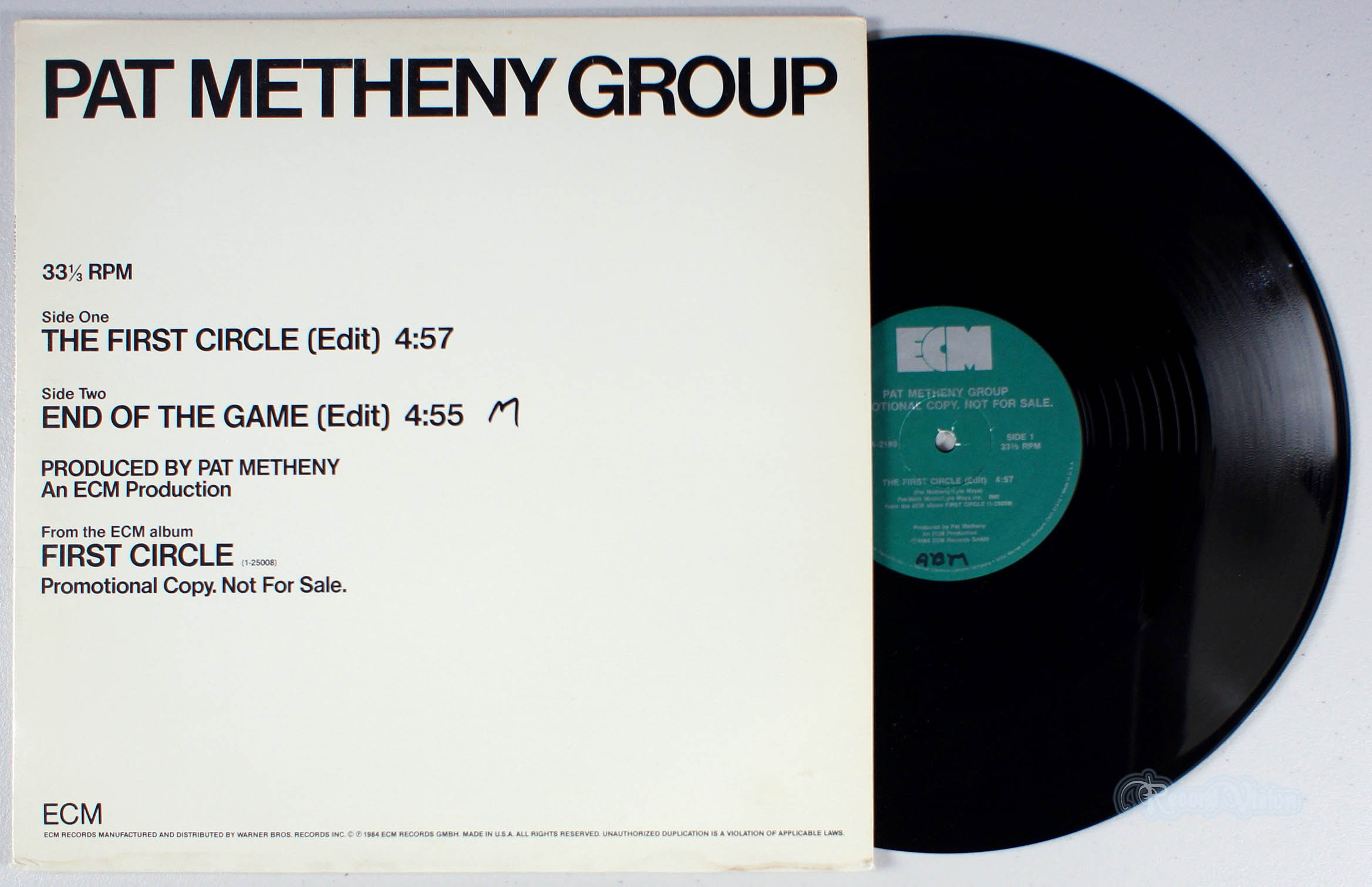 PAT METHENY GROUP - The First Circle - 12 inch x 1