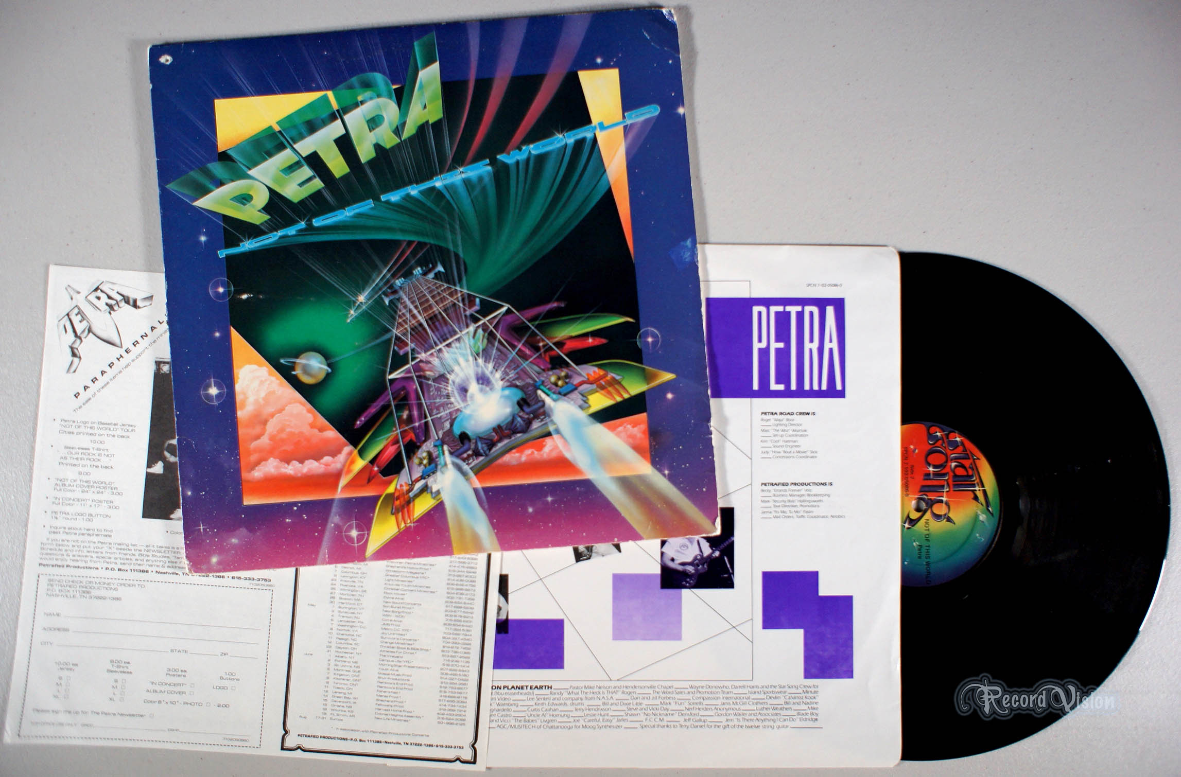 PETRA - Not of This World - 33T