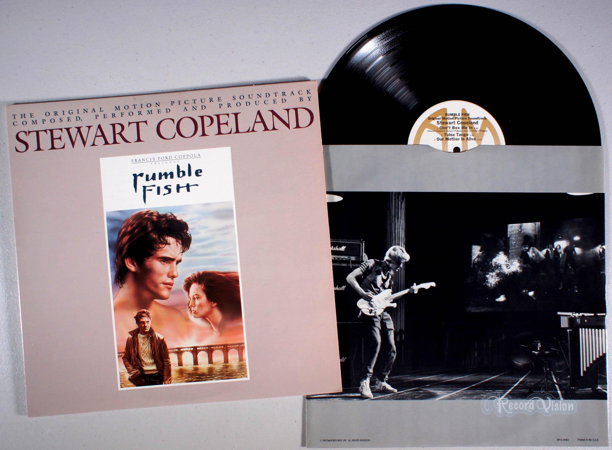 STEWART COPELAND - Rumble Fish - LP