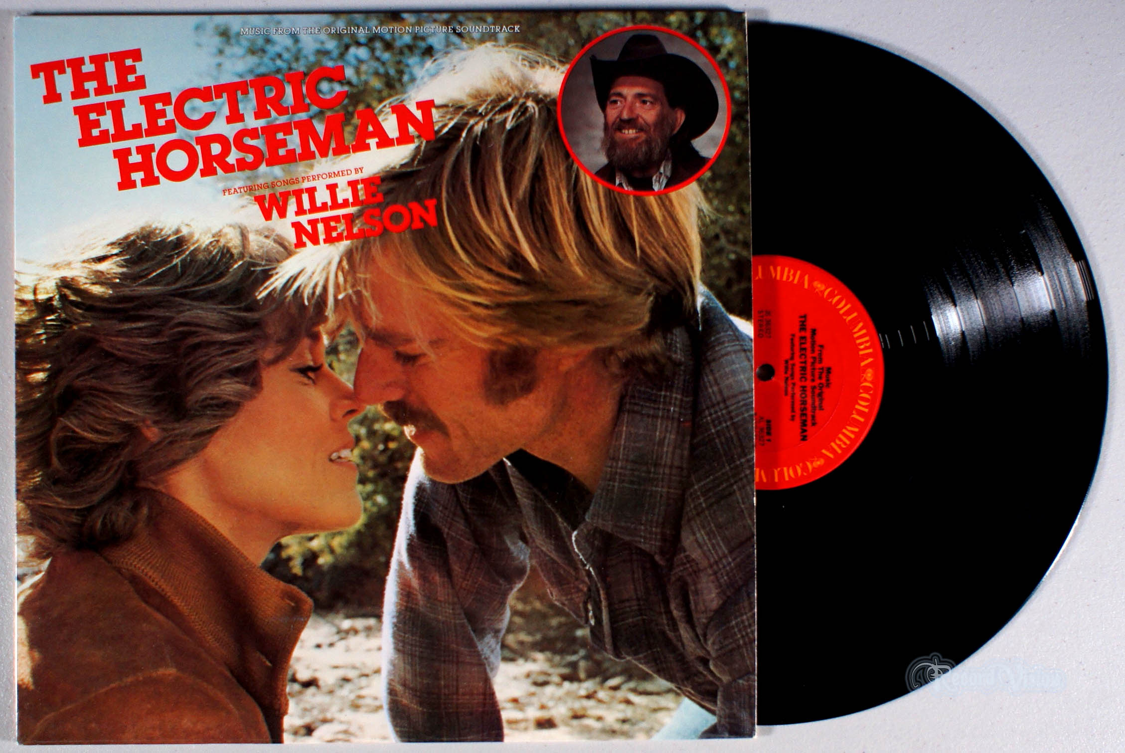WILLIE NELSON - The Electric Horseman - LP